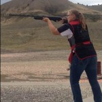 4H member participating in Shooting Sports