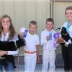 4-H Kids participating at Fair