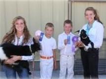4-H Kids participating at Fair