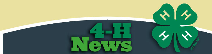 4-H News Banner
