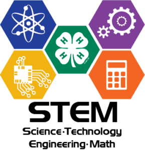 STEM (Science-Technology-Engineering-Math) Logo