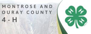 Montrose County 4-H website header